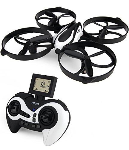 TOZO-Q2020-Drone-RC-Mini-Quadcopter-Altitude-Hold-Height-Headless-RTF-3D-6-Axis-Gyro-4CH-24Ghz-Helicopter-Steady-Super-Easy-Fly-for-Training-Black-0-0